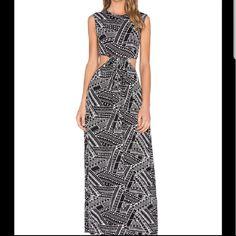 *Sale* Clayton Cut-Out Maxi Dress