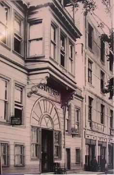 Tarihi Konaklar - İzmit - Sahici Martavallar1933 istasyon oteli