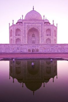 Invoke The Spirit Within Tomorrow Is Another Day, I Believe In Pink, The Great Escape, Love Photography, Beautiful Images, Pretty In Pink, Taj Mahal, Reflection, Places To Go