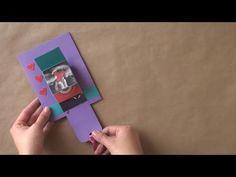 "Tarjeta en ""Cascada"" // San Valentin [waterfall card] - YouTube"
