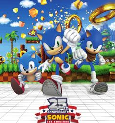 "Sega Reveals New 25th Anniversary Details ""Branded Events & New Style Guides"""