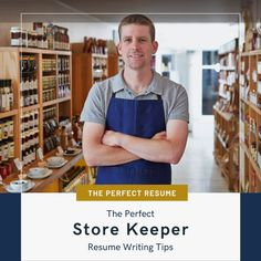 Do you want to apply for a Store Keeper position to help you get closer to your career goals? Applying for jobs on Seek, LinkedIn, and other job boards can be a time-consuming process, however, to streamline the process, you can ensure your resume writing helps you to stand out from the crowd, and your online profile helps you to get an interview!