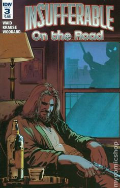 Insufferable on the Road (2016 IDW) 3 comic book cover independent
