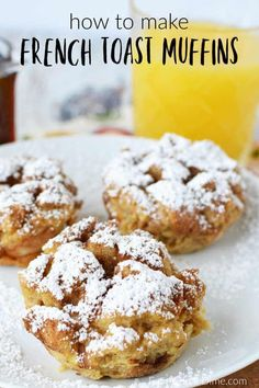Do you love baked french toast? You are going to love easy french toast muffins … Do you love baked french toast? You are going to love easy french toast muffins recipe. Get all the flavors of french toast with easy french toast muffins. Breakfast Appetizers, Breakfast Dessert, Breakfast Dishes, Perfect Breakfast, Easy Breakfast Muffins, Breakfast Toast, Baked Breakfast Recipes, Fun Easy Breakfast Ideas, Appetizer Dessert
