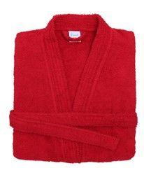 Kimono badjas rood