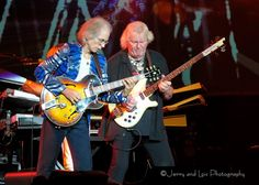 Steve Howe and Chris Squire of Yes