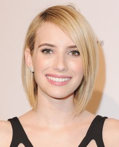 The Best Celebrity Bobs - Emma Roberts from #InStyle