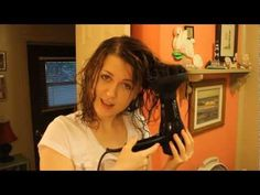 Summer is here! Why fight the humidity? How To Use a Diffuser and Get Natural Waves - YouTube