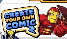 Create Your Own Comic | Marvel Super Hero Squad | The Official Web Site | CreatingComics | Scoop.it