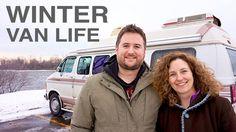 Van Life - Couple Survives 2 Winters Living in a Van!