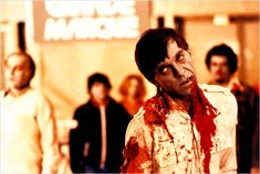 SPOILER: Steven as a zombie from Dawn of the Dead.  In all seriousness, this zombie is probably my favorite of all time.