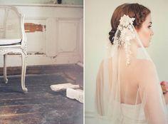 Joy Veil –Jannie Baltzer Couture Headpieces 2015 Collection. www.theweddingnotebook.com