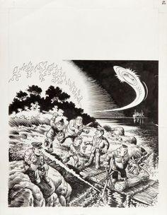 "Janusz Christa (1934-2008)  ""Kajtek i Koko - Zwariowana wyspa 2"", 1967 r. (comic cover)"