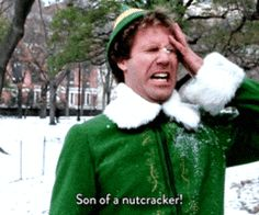 Check out all the awesome son of a nutcracker gifs on WiffleGif. Including all the will ferrell gifs, elf gifs, and ineedthisforreactions gifs. Funny Quotes, Funny Memes, Elf Quotes, Movie Quotes, Elf Memes, Funniest Quotes, Humor Quotes, Zach Galifianakis, Will Ferrell