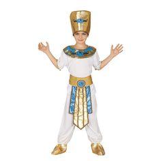 Disfraz de Faraón Infantil #disfraces #carnaval #novedades2016