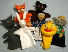 """Bábszínház """"Gingerbread Man"""" - a főszereplő mintákat és példákat munkák"""