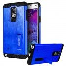 AERO ARMOR Protective Case with Stand for Samsung Galaxy Note 5 - BLUE