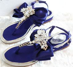 Morpheus Boutique  - Trendy Crystal Satin Roman Leather Sandals Flat Shoes