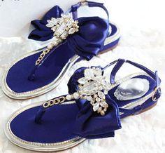 Morpheus Boutique  - Trendy Crystal Satin Roman Leather Sandals Flat Shoes