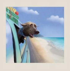 Toby Goes On Hols by Stephen Hanson - The Acorn Gallery