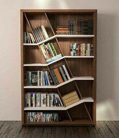 Bookshelf IdeasShelving IdeasCreative BookshelvesBookshelf DesignBook  ShelvesBook StorageModern BookshelfWall BookshelvesWall Shelving Units