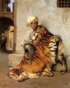 Desde el Renacimiento hasta nuestros días: Jean-Léon Gérôme - (Vesoul, 1824 - París, 1904) Orientalist painter