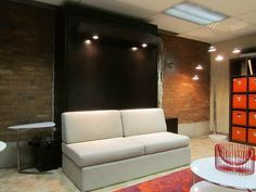 InLine Murphy Bed With Hutches And Sofa   Murphy Beds/Wall Beds U0026 Sofa Beds    Pinterest   Murphy Bed, Inline And Wall Beds