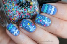 Topper Thursday - KBShimmer Sweet Wave swatches and review