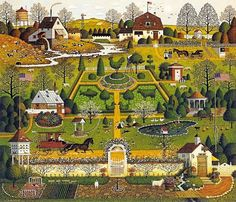 Uncle Jack's Topiary Tendencies - Charles Wysocki