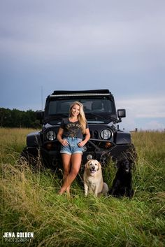 Senior Girl With Jeep and Dogs Natural Senior Girl Pictures Jeep Senior Girl Session OCF Senior Portraits Forsyth County Georgia Senior Pictures Harrison High School Senior North Forsyth High School Senior Photographer Alpharetta Senior Photographe Truck Senior Pictures, Country Senior Pictures, Senior Photos Girls, Senior Girls, Jena, Jeep Photos, Senior Girl Photography, School Photography, Photos With Dog