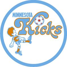 Minnesota Kicks Logo Introduced 1976 After sifting through hundreds of suggestions from the public the owners of Minnesotas new North American Soccer League (NASL) franchise announced on January 28 1976 that their team would be known as the. North American Soccer League, Major League Soccer, Lille Osc, Canada Soccer, School Badges, Sporting Kansas City, Sir Alex Ferguson, Derby County, Club America