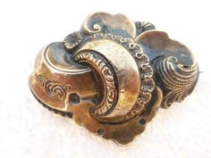 Victorian brooch from the 1800's in detailed  by MeyankeeGliterz