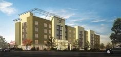 Marriott Towneplace Suites, 2877 Lakeside Drive, CA - Under Construction - Hotel
