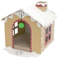Superb How To Build A Gingerbread House For Your Cat Great Ideas