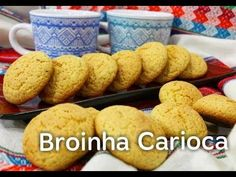 COMO FAZER BROINHA CARIOCA (POR FERNANDO COUTO) - YouTube Cereal, Muffins, Cookies, Breakfast, Youtube, Desserts, Food, Grated Cheese, Wafer Cookies