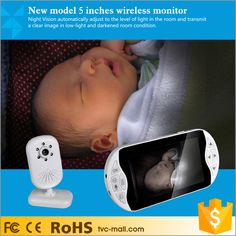 LEEHUR 2.4GHz Digital Wireless Video Baby Monitor With IR Night Vision Camera