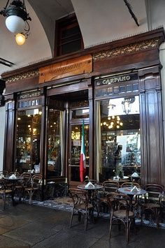 Caffè Mulassano ~ Turin, Italy