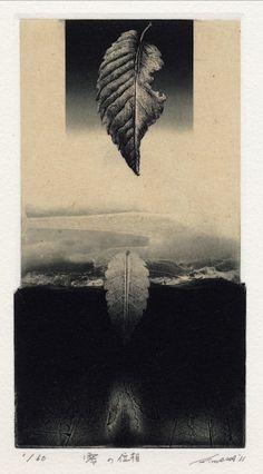 takahikohayashi:    Artist: Kouhei Wakatsuki 17x9cm etching 2011