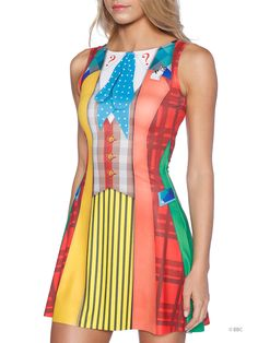 Sixth Doctor Play Dress (WW ONLY $95AUD) by Black Milk Clothing