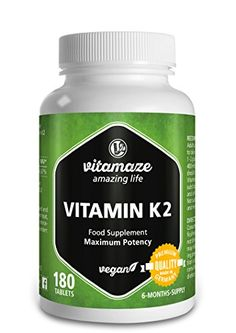 The Product Vitamin K2 Certified, High Strength 200μg MK-7 Menaquinone vegan 180 tablets for 6 months supply Premium Quality Product without magnesium stearate  Can Be Found At - http://vitamins-minerals-supplements.co.uk/product/vitamin-k2-certified-high-strength-200%ce%bcg-mk-7-menaquinone-vegan-180-tablets-for-6-months-supply-premium-quality-product-without-magnesium-stearate/