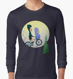 """""""Beavis and Butthead ET"""" Long Sleeve T-Shirts by mightylesbinaut   Redbubble"""