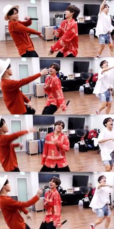 #JIMIN #V #JHOPE [BANGTAN BOMB] BTS PROM PARTY : UNIT STAGE BEHIND <땡>