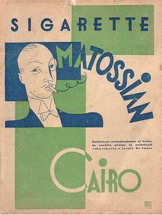 bleistift-und-radiergummi:    Erberto Carboni 'Mattossian Cairo' 1930's