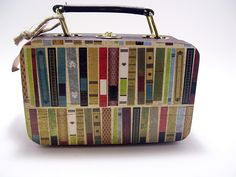 Bookish suitcase - to carry your literary wear :)