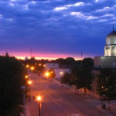 Grand Forks, ND. Our current place of residence, where our son was born, and where I have managed to get a masters degree:)