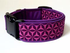 Obojek RETRO Purple jediný kus