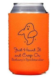The Friendly Ghost Collapsible Koozies