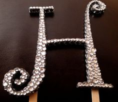Rhinestones ANY COLOR Front Back and Sides by hotpinkhannah, $89.00
