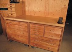 These rolling storage cabinets will help out in more ways than you can imagine around the shop. Storage Cart, Storage Ideas, Canadian Woodworking, Rolling Storage, Workshop Storage, Woodworking Magazine, Cool Tools, Storage Cabinets, Shop Ideas