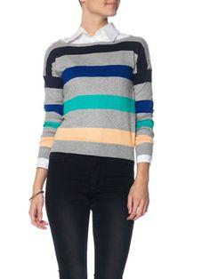 Veromoda long sleeved knit blouse